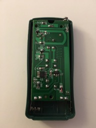 HC Lights Remote PCB Backside
